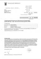 Freistellungsbescheinigung zum Steuerabzug bei Bauleistungen gemäß § 48b Abs. 1 Satz 1 des Einkommensteuergesetzes