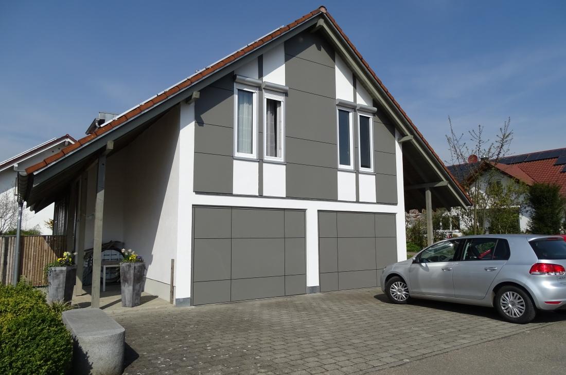 Eine neue pflegeleichte Fassade
