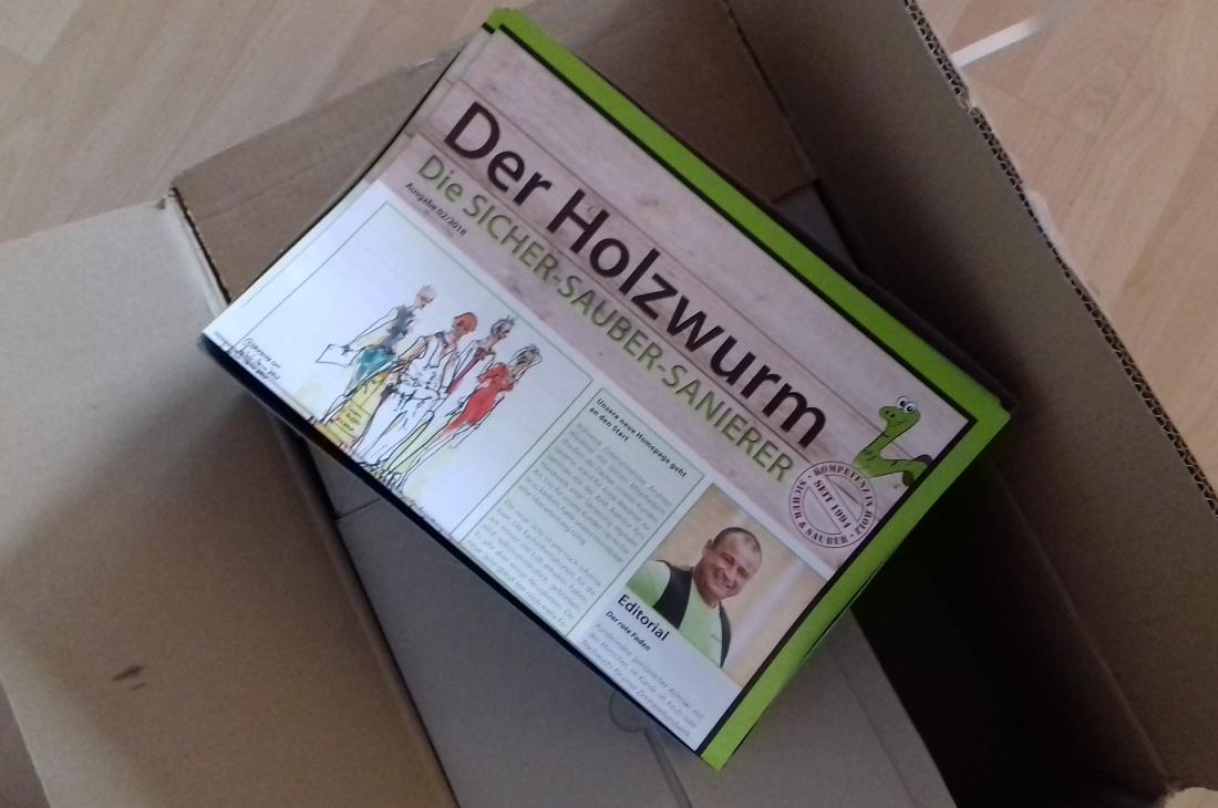 HOLZWURM Ausgabe 2/2018 erschienen