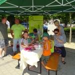 Auch auf dem Dorffest in Burgrieden sind wir regelmäßig dabei.